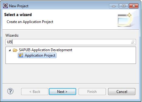 NewUI5Project