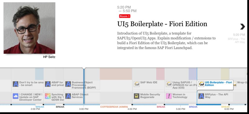 Session-UI5-Boilerplate-Fiori-Edition